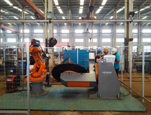 焊接机器人的定义以及应用范围